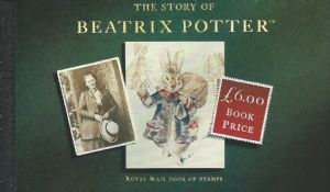 DX15 1993 Beatrix Potter Prestige Stamp Booklet